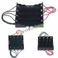 Porta batterie 4x18650 stilo batteria casa holder battery contenitore box NEW