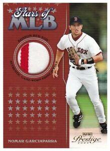 Nomar Garciaparra 2004 Playoff Prestige Stars of MLB Game Worn Patch #/50