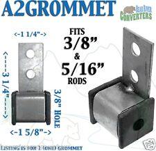 """Exhaust Rubber Hanger Insulator Bracket Southern J Hook 3/8"""" 5/16"""" A2GROMMET"""