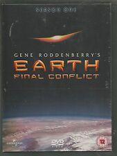 EARTH FINAL CONFLICT - SEASON 1 - sealed/new - UK REGION 2 DVD BOX SET