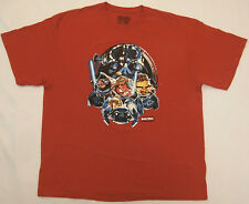Angry Birds Star Wars T-shirt 2XL extra large red Fifth Sun video game jedi