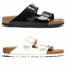 Birkenstock ARIZONA 1005292 (Nar) Ladies Birko-Flor Two Strap Sandals Patent