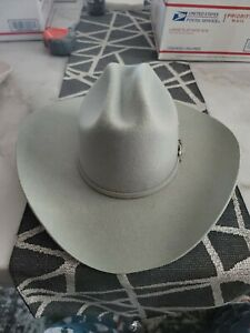 NEW Bullhide Hats SIZE 7 Rodeo Round- Up Ruidoso 6X GREY Cowboy Hat NEW WITH TAG