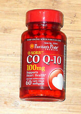 Puritan's Pride CO Q 10 Q-Sorb 100 mg 60 softgels Supports Good Heart Health
