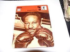 FICHE CARD :  BOXE EZZARD CHARLES BOXING 1970s
