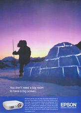 Epson Home Cinema Projection Range 2006 Magazine Advert #1230