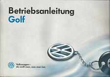 VW GOLF 3 Betriebsanleitung 1991 Bedienungsanleitung Handbuch Bordbuch  BA