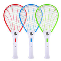 Electric Bug Insect Pest Fly Mosquito Killer Swatter Zapper Racket Rechargeable