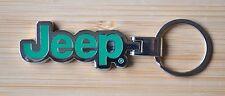 Jeep Green Keyring Key Chain SRT Wrangler Renegade Cherokee Compass
