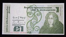 IRELAND £1 POUND CENTRAL BANK OF IRELAND 09.09.1982 BANKNOTE P 70c