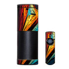 Skin Decal Vinyl Wrap for Amazon Echo Device / Sharp Colors