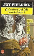 JOY FIELDING QU'EST-CE QUI FAIT COURIR JANE ?