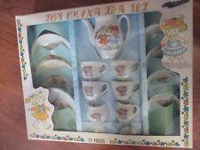 Vintage Child's 17 Piece China Tea Set #3017