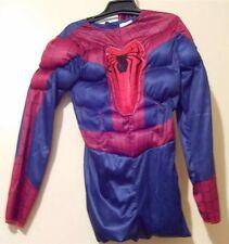 Boys Spiderman Costume Marvel Comics Dress Up NWT  Large 10 -12 Complete