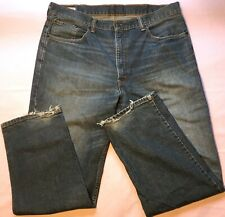 Levi's 550 Blue Jeans Faded Dark Wash Mens Size 38x32