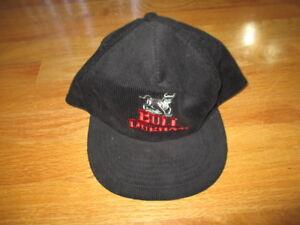 Vintage BULL DURHAM Minor League Baseball (Adjustable Snap Back) Corduroy Cap