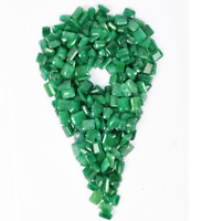 100 Ct Natural Emerald Cut Colombian Green Emerald Loose Gemstone Bulk Lot 4