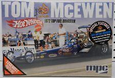 1972 HOT WHEELS TOM MONGOOSE MCEWEN DRAGSTER MOPAR DRAG TOP FUEL MPC MODEL KIT