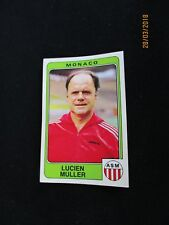 MULLER  AS MONACO   image sticker N° 163  FOOTBALL 86 PANINI 1986