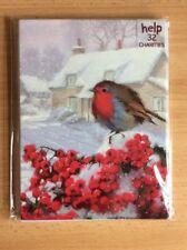 Noel Tatt 8 Pack Christmas Cards - Robbin And Berries
