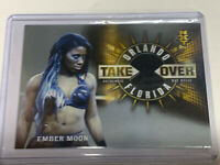 WWE Ember Moon 2018 Topps Road To WrestleMania NXT Mat Relic Card SN 04/25🔥🔥🔥