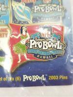 NFL Pro Bowl Hawaii All Star Game 2003 Lapel Pin Collector Football Pinback