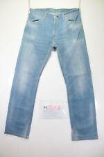 Levi's 506 Stretch (Cod. H2013) Tg48 W34 L32 jeans usato Vita Alta vintage Levis