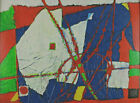 Signed Dated 93 - Abstract Composition