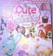 24 x A6 TOPPERS FROM HUNKYDORY - LITTLE BOOK OF CUTE AND CUDDLY CARDMAKING CRAFT