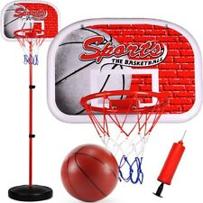 Children Hanging Basketball Stand Indoor Mini Basketball Hoop Board for Kids
