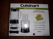 Cuisinart BFP-703CH SmartPower Duet Blender and Food Processor, Glass Jar Chrome
