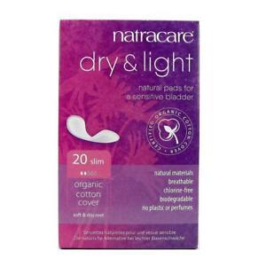 Natracare Dry and Light Inkontinenzbinde Slim 20 Stk.