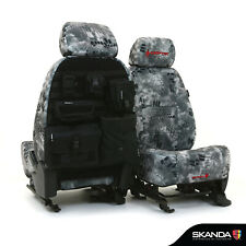 Kryptek Raid Camo Neosupreme Tactical Tailored Seat Covers for Chevy Silverado