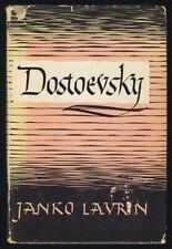 1947 FYODOR DOSTOEVSKY Nonfiction PSYCHOLOGICAL STUDY Russian Authors LIT CRIT