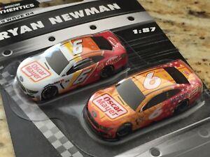 2019 Wave 4 #6 Ryan Newman Oscar Mayer 1/87 NASCAR Authentics Twin Pack