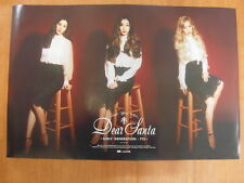 TAETISEO TTS SNSD GIRLS' GENERATION - Dear Santa (Ver. B) [OFFICIAL] POSTER