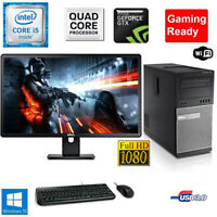 Fortnite Gaming PC Desktop Computer QuadCore i5 GTX 1050TI 16GB 1TB Bundle