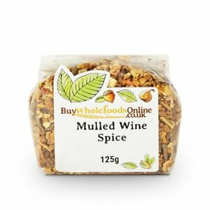 Mulled Wine Spice 125g   Buy Whole Foods Online   Free UK Mainland P&P