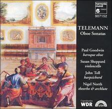 Telemann: Oboe Sonatas (CD, Nov-1996, Harmonia Mundi (Distributor))