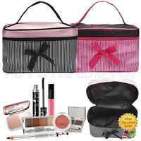 Da Donna Trousse Viaggio Accessorio Toeletta Borsa Cosmetici Make-Up Custodia