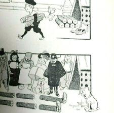 Recueil Histoire sans parole PESEUX 1904 Original Signé 280 Planches BD Rabier