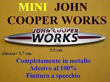 MINI COOPER S ONE JCW R55 R56 John Cooper Works Badge Stemma Fregio Standard NEW