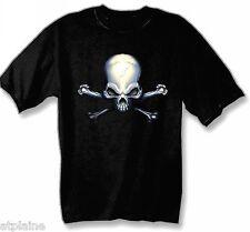 T-Shirt MC CROSSBONES - Taille XL - Style BIKER HARLEY