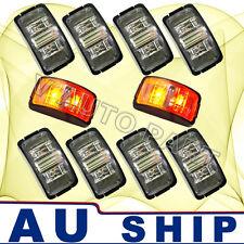 10X 12V DC Red Amber Side Light LED Marker Trailer Truck Turn Lamp AU Post Fast
