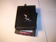 PLAYBOY Crystal eye Bunny Money clip NEW in box 100% authentic