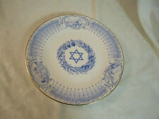 Boehm Judaic Collection Plate The State of Israel Limited Edition No. 1407 Htf