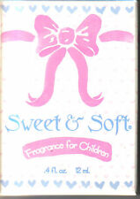 SWEET & SOFT BABY PERFUME ROLL ON KID FRAGRANCE SHOWER GIFT TRAVEL BASKET