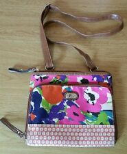 Plum Brand Flower print messenger bag