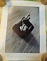 Old Poster Poster Naked Eroticism by Michael Bach Vintage Tenderness Morning Lig