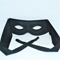 Superhero Mask Zorro Kids Small Black Bandit Fancy Dress Costume World Book Day